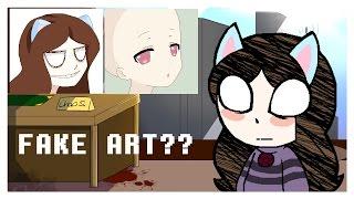 "What is a ""fake artist"" and what is a fake artist. [+Speedpaint.]"