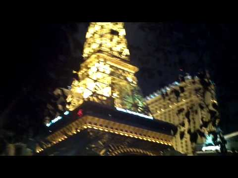 Las Vegas – Billagio hotel at night