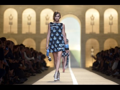 Spring Fashion Show 2015 Fendi Spring Summer
