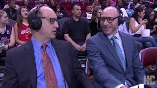 Jeff Van Gundy gives Buc-ee's a slam dunk of support on ESPN during Rockets game