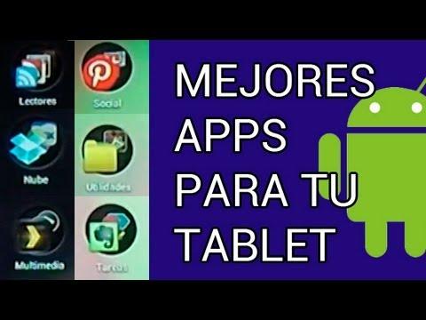 Mejores aplicaciones para tu tablet Android (ESPAÑOL HD 1080P)