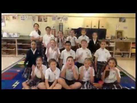 K-5 WINNER - Call Me Maybe - Annunciation Catholic School - 03/05/2013