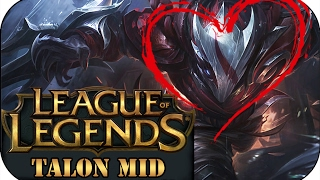 ER IST ZURÜCK! BLOOD MOON TALON MID | League of Legends Gameplay deutsch