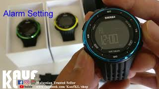 SKMEI 1219 Malaysia Review beli di shopee.com.my/terlaristrending
