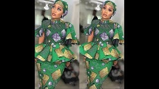 2020 CREATIVELY STYLISH #AFRICAN PRINT DESIGNS | 45 BEST HAUSA #ANKARA STYLES