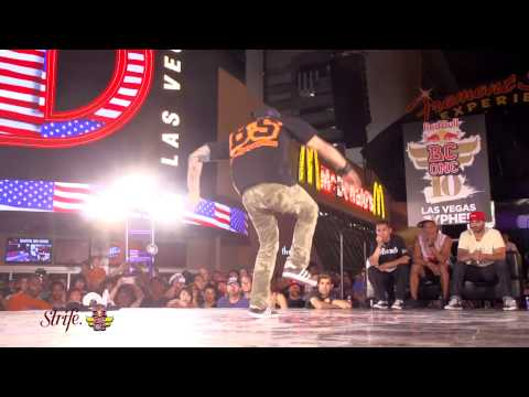 Lil Rock vs Maynard | STRIFE.TV | Red Bull BC One Cypher Las Vegas 2013 | FINAL