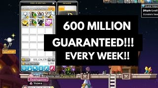 600M GUARANTEED per Week |Unfunded GUIDES| MAPLESTORY