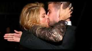 Hot Kissing Scenes | Shakira Kissing Gerard Pique