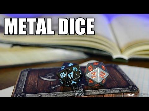 Skull Splitter Metal Polyhedral Dice Review