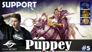 Puppey - Keeper of the Light Offlane | SUPPORT | Dota 2 Pro MMR Gameplay #5