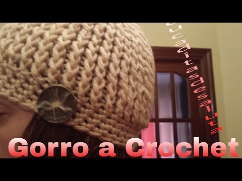 Gorro a Crochet ( Ganchillo ) English Subtitles ( Subtitulado Español)