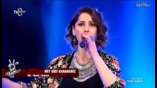 Özlem Çelik 'Hey Gidi Karadeniz'  O Ses Türkiye