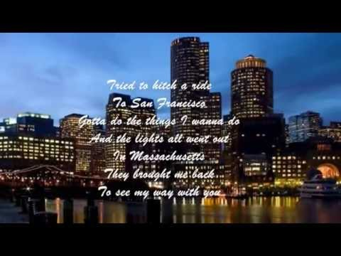Bee Gees - (the Lights Went Out In) Massachussets
