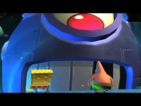 Video Game Trailers - Spongebob Squarepants Game | Plankton's Robotic Revenge Debut Trailer 【hd】 video