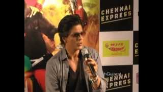 Chennai Express - Shahrukh Khan on Chennai Express and more