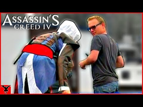 ASSASSIN S CREED 4 in Real Life [Public Pranks]