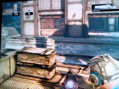 gears of war 3 gameplay- teamdeath match drydocks part 2