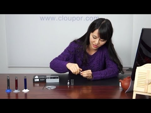 Polygon design vaporizer tricks Cloutank m2 from cloupor wax vaporizer pen hash oil cigarette review