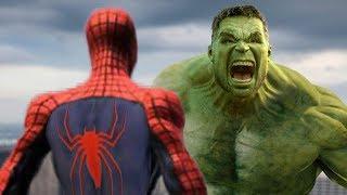 THE HULK VS SPIDER-MAN - EPIC BATTLE | A Short film VFX Test