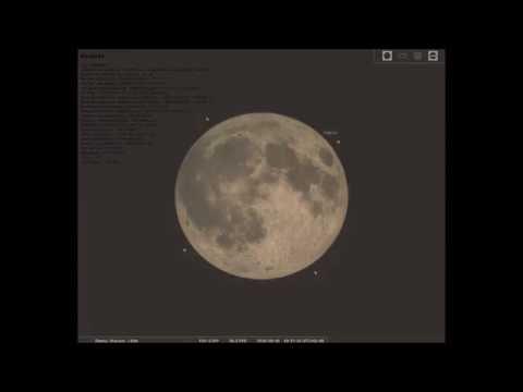 Symulacja półcieniowego zaćmienia Księżyca 16.09.2016