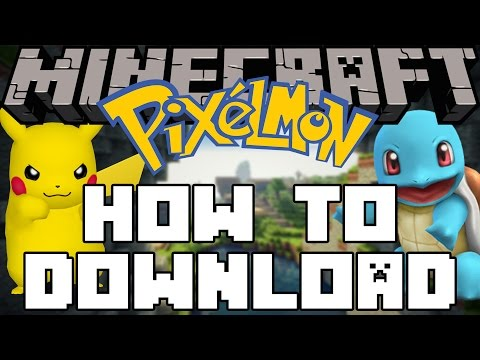 Minecraft Pixelmon - How To Download & Play! thumbnail