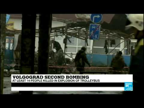 Volgograd bombings: both blasts were 'most likely' connected, according to Russian Authorities