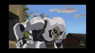 Ultimate Spiderman S2E16 - Taskmaster gets beaten down by Deadpool and Spiderman