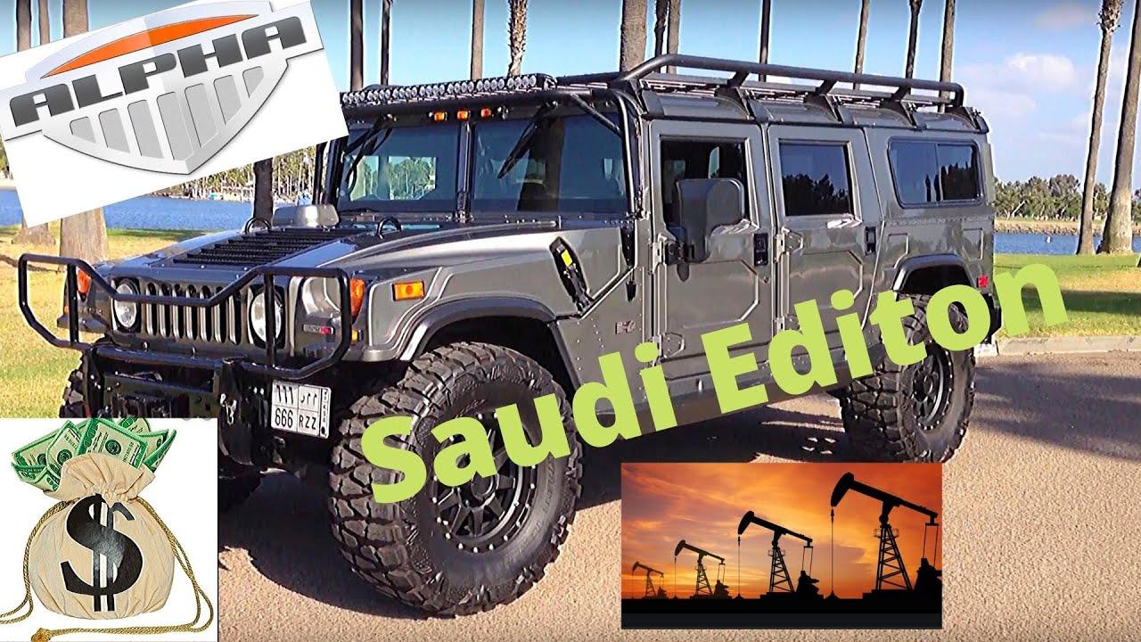 Hummer H1 Alpha Saudi Edition YouTube