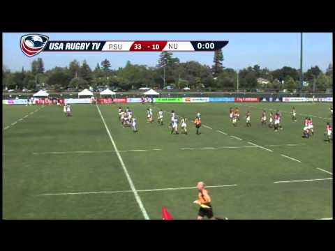2013 Emirates Airline USA Rugby Women's College Championship - PSUvNU