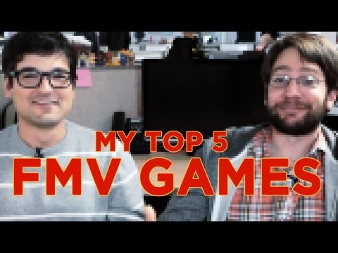 The Worst Game Genre EVER! Top 5 FMV Games with Jeff Rubin