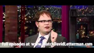Rainn Wilson in Late Show with David Letterman February 23, 2011