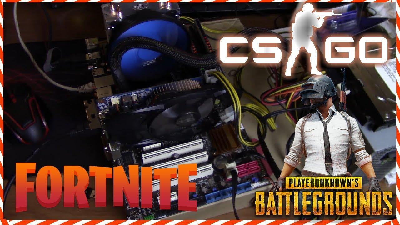 Лучший игровой ПК за 7.000 рублей / Комп для Fortnite, CS GO, Pubg, WoT, Warface