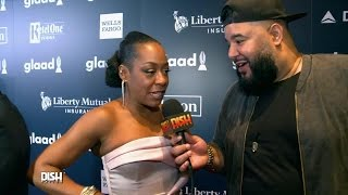 TICHINA ARNOLD SLAYS PATTI LABELLE IMPERSONATION AT GLAAD AWARDS