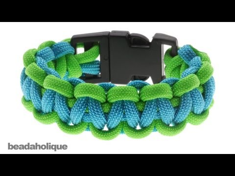 How to Make a Basic Cobra Paracord Bracelet