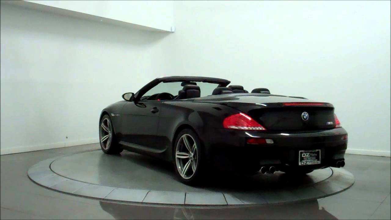 2008 bmw m6 v10 smg convertible youtube. Black Bedroom Furniture Sets. Home Design Ideas