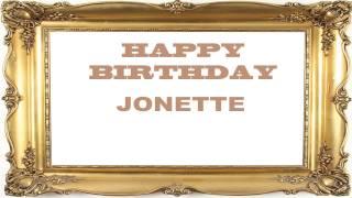 Jonette   Birthday Postcards & Postales - Happy Birthday