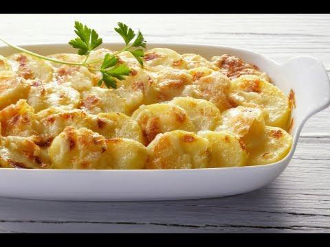 Картофель Гратен (Картофель по-французски)