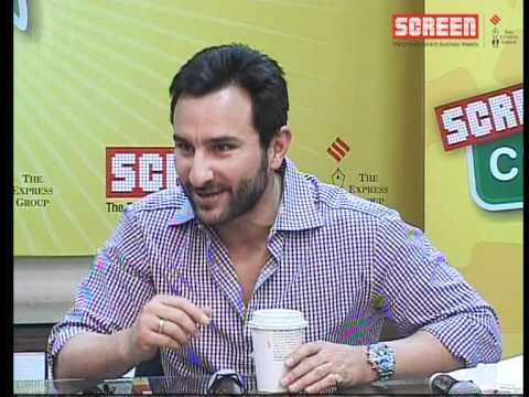 Saif Ali Khan: Happy to release