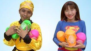 Trò Chơi Săn Và Bóc Trứng Khủng Long – GAME HUNTING AND OPENING DINOSAUR EGGS ❤ BIBI TV ❤