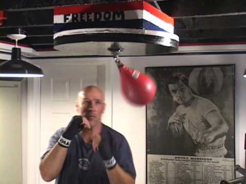 HOW TO HIT A SPEED BAG, DIFFERENT WAY TO HIT A SPEED BAG, JOE PRACTICE™ Image 1
