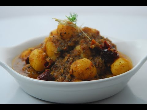 Baby Potatoes In Curry Leaf Curry | Cooksmart | Sanjeev Kapoor Khazana