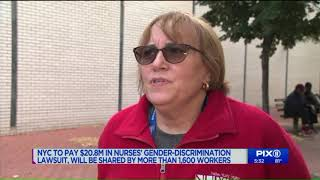 NYC to pay $20.8M in nurses` gender-discrimination lawsuit