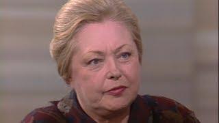 Mathilde Krim on the importance of presidential leadership on AIDS