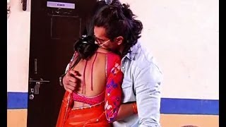 Karan comes to meet wife Jennifer on Saraswatichandra sets
