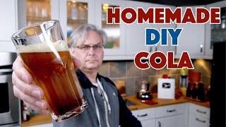 DIY 'Coke' Cola Recipe Nailed It! || Glen & Friends Cooking