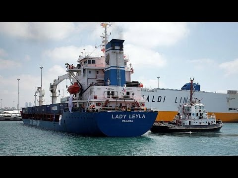 Turkish ship arrives in Israel with aid for Gaza