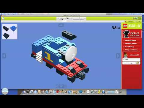 How To Build Thomas The Train Lego Set