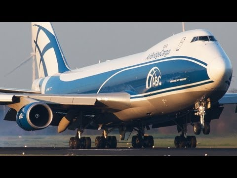 Amsterdam Schiphol Close-up Landings Boeing 747, B777, B757, Airbus A330, A340. Thx for 20000 Subs !