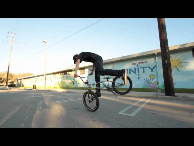 Michael Chacon on a BMX!