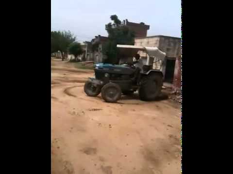 New Ford Tractor Stunt video